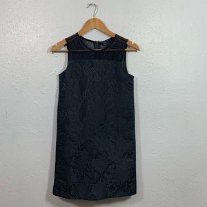 All Saints Black Sleeveless Beckett Dress Size XS